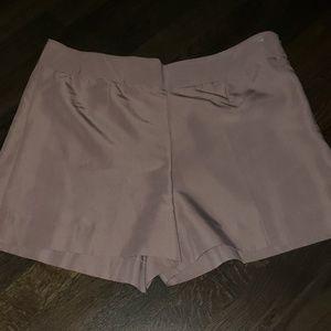 Silk Dress Shorts